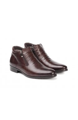 Ботинки мужские. Цвет коричневый.