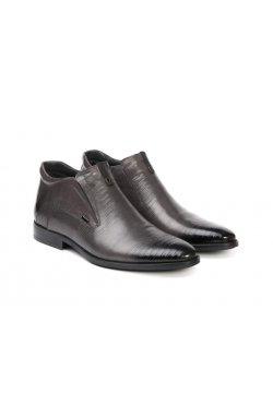 Ботинки мужские. Цвет серый.