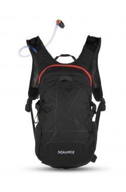 Рюкзак с гидратором Fuse 3+ 9L black/red