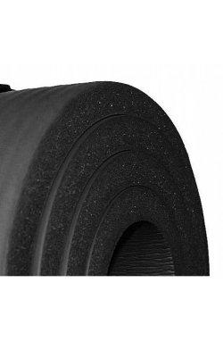Коврик (мат) для йоги и фитнеса SportVida NBR 1.5 см SV-HK0167 Black
