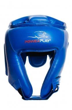 Боксерський шолом турнирный PowerPlay 3045 Синій