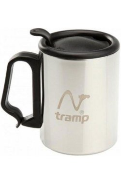 Термокружка с поилкой Tramp 300мл серый TRC-018