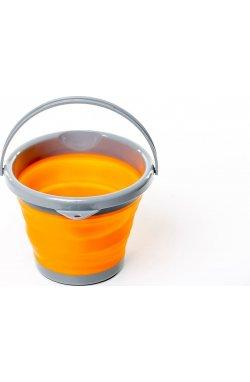 Ведро складное силиконовое Tramp 5L orange