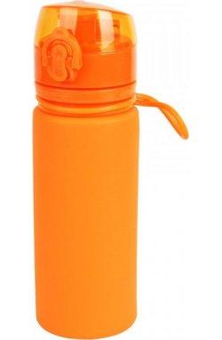 Бутылка силиконовая Tramp 500 мл orange
