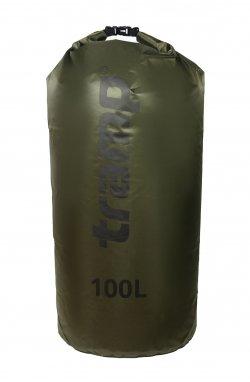 Гермомешок Tramp PVC Diamond Rip-Stop оливковый 100л