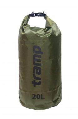 Гермомешок Tramp PVC Diamond Rip-Stop оливковый 20л