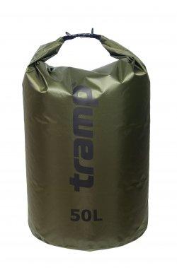 Гермомешок Tramp PVC Diamond Rip-Stop оливковый 50л