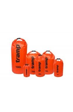 Гермомешок Tramp PVC Diamond Rip-Stop оранжевый 100л