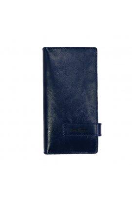 Клатч кожаный синий Issa Hara - CL3 (93-00)