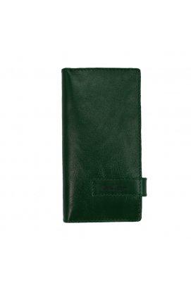 Клатч кошелек из кожи зеленый Issa Hara