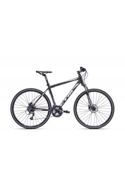 Велосипед CTM Tranz 2.0 (black/white) 2018 года; 21 ростовка