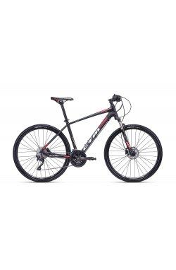 Велосипед CTM Stark 2.0 (matt black/red) 2018 года; 19 ростовка