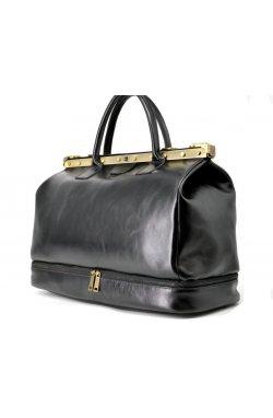 Кожаная сумка-саквояж с двойным дном TA-1185-4lx TARWA