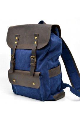 Рюкзак унисекс парусина+кожа RK-9001-4lx бренда TARWA
