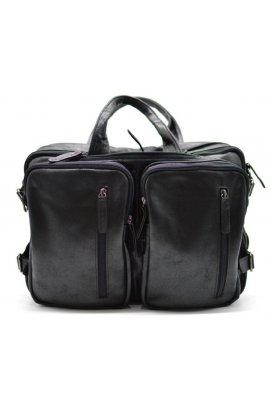 Мужская кожаная сумка-рюкзак GA-7014-3md TARWA