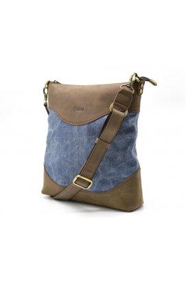 Мужская сумка, микс парусина+кожа RK-1807-4lx бренда TARWA