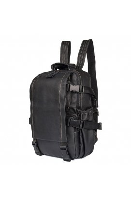 Небольшой кожаный рюкзак унисекс JD 2014A John McDee
