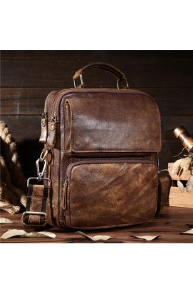 Оригинальная мужская сумка через плечо, цвет коричневый, Bexhill bx8795 Кори