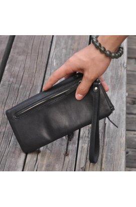 Оригинальное мужское портмоне, цвет черный, Bexhill bx3018