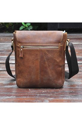 Мужская сумка через плечо коричневая Bexhill ON8571