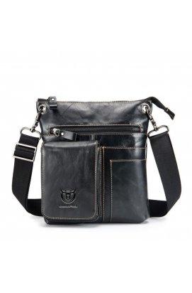 Компактная кожаная сумка через плечо T0039 бренда Bull