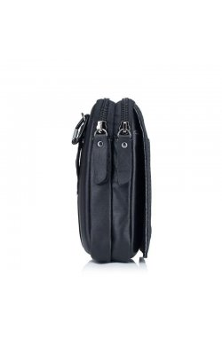 Мужская кожаная сумка на пояс от Bull YB13A