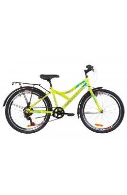 """Велосипед 24"""" Discovery FLINT MC 2019 (салатно-синий с серым)"""