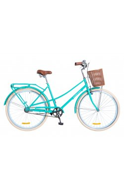 "Велосипед 28"" Dorozhnik COMFORT FEMALE 2018 (бирюзовый)"