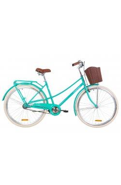 "Велосипед 28"" Dorozhnik COMFORT FEMALE 2019 (бирюзовый)"