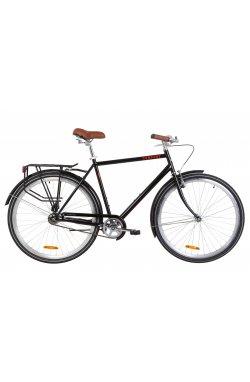 """Велосипед 28"""" Dorozhnik COMFORT MALE 2019 (черный)"""