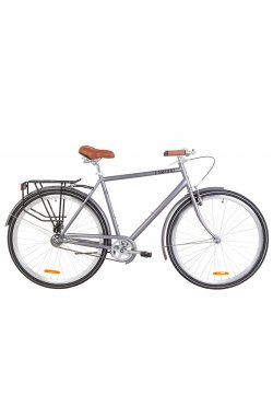 "Велосипед 28"" Dorozhnik COMFORT MALE 2019 (серый)"