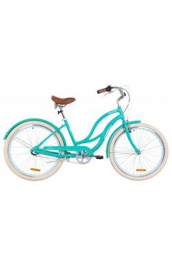"Велосипед 26"" Dorozhnik CRUISE PH 2019 (бирюзовый)"