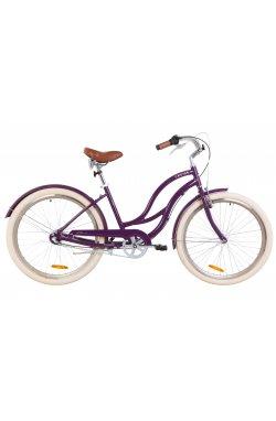 "Велосипед 26"" Dorozhnik CRUISE PH 2019 (фиолетовый)"