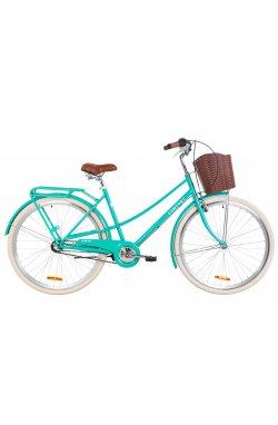 "Велосипед 28"" Dorozhnik COMFORT FEMALE PH 2019 (бирюзовый)"