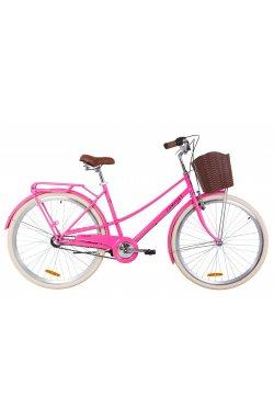 """Велосипед 28"""" Dorozhnik COMFORT FEMALE PH 2019 (персиковый)"""