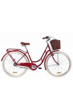 "Велосипед 28"" Dorozhnik RETRO PH 2019 (рубиновый)"