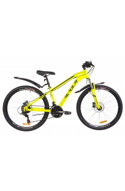 "Велосипед 26"" Formula DAKAR HDD 2019 (желтый)"