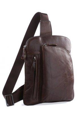 Рюкзак Vintage 14186 кожаный Коричневый, Коричневый