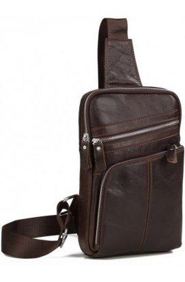Рюкзак мужской Vintage 14624 кожаный