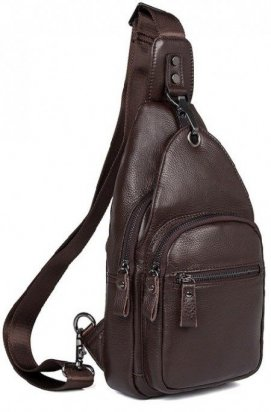 Рюкзак мужской Vintage 14647 кожаный Коричневый, Коричневый