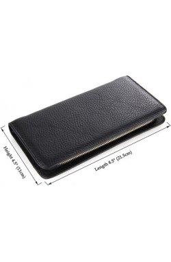 Мужской клатч Vintage 14461 Черный, Черный
