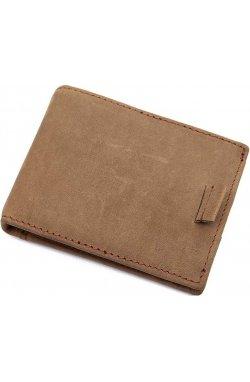 Зажим для денег Vintage 14532 из натуральной кожи Коричневый, Коричневый