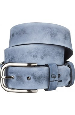 Ремень мужской Grande Pelle 11061 Синий, Синий