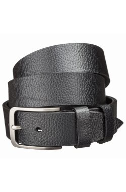 Мужской кожаный ремень MAYBIK 15247 Черный, Черный