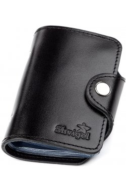 Холдер вертикальный Shvigel 13911 кожаный Черный, Черный