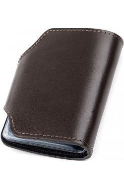 Холдер вертикальный Shvigel 13912 кожаный Коричневый, Коричневый
