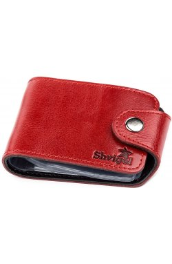 Холдер горизонтальный Shvigel 13913 кожаный Красный, Красный