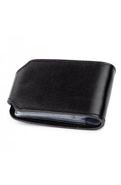 Холдер горизонтальный Shvigel 13915 кожаный Черный, Черный
