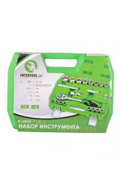 "Набор инструмента 21ед., 1/2"", INTERTOOL ET-6021SP"