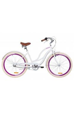 "Велосипед 26"" Dorozhnik CRUISE PH 2019 (белый)"